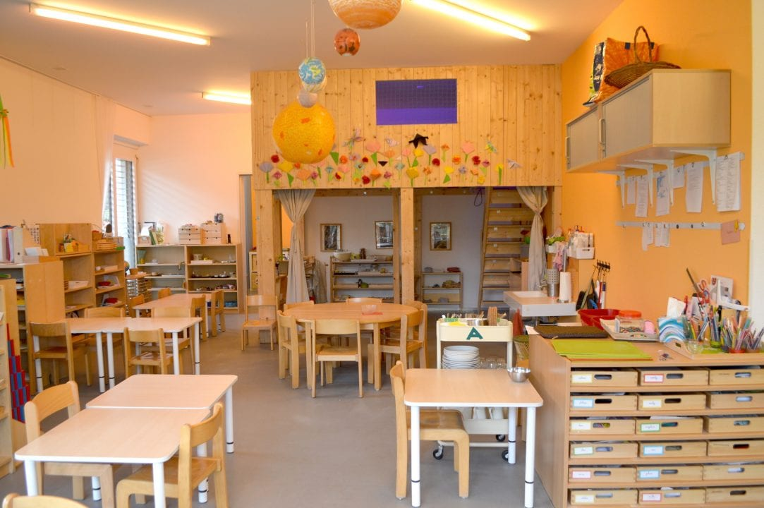 Montessori House of Kids - Kindergarten classroom