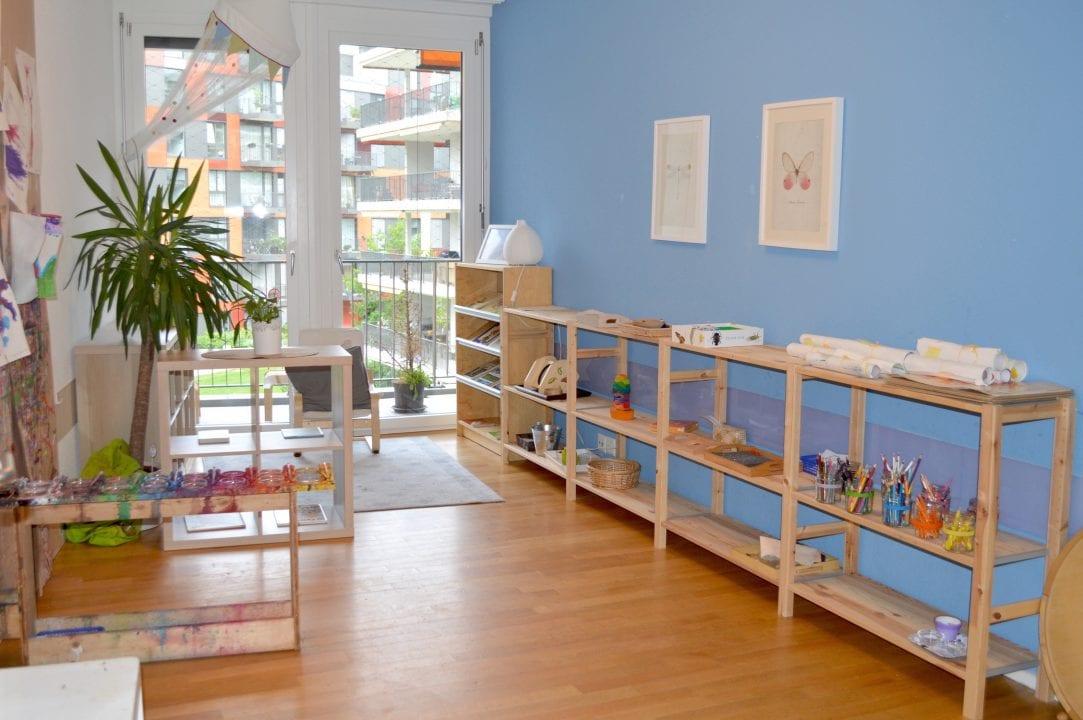 Montessori House of Kids - Kindergarten classroom