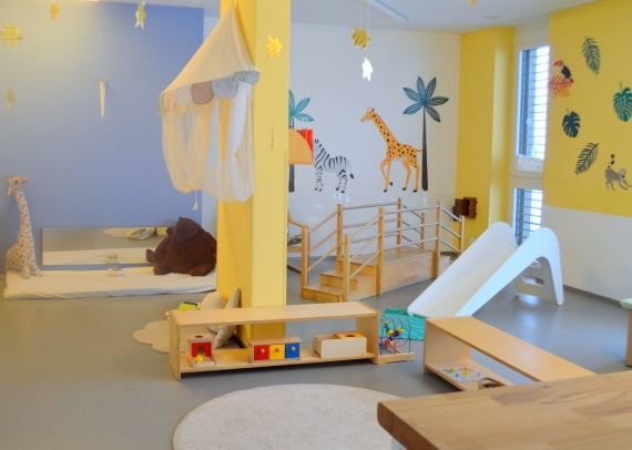 Montessori House of Kids - Nido Classroom